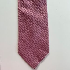 Croft & Barrow Pink Silk Tie